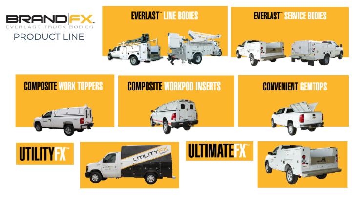Truck bodies – BrandFX UtilityFX™ Bodies